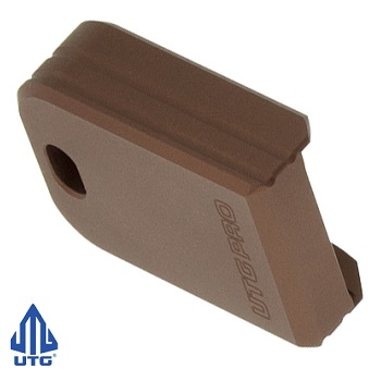 "Leapers ® UTG PRO +0 Magazine Base Pad ""Springfield XD(M)"" - Matte Bronze"