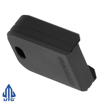 "Leapers ® UTG PRO +0 Magazine Base Pad ""Springfield XD(M)"" - Matte Black"