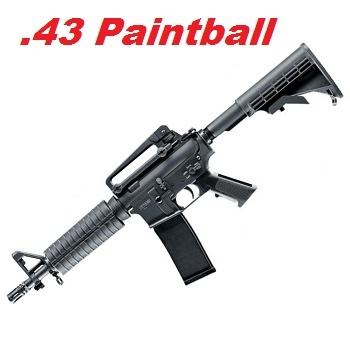 VFC M4 A1 CQB-R (T4E TM4) Cal .43 Real Action Paintball Marker