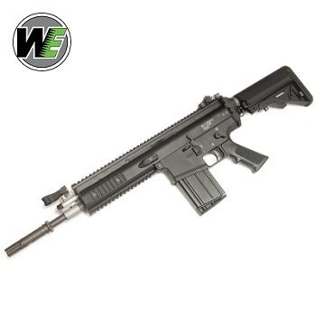 "WE SCAR-H MK.17 Mod 0 CQC ""SOPMOD"" GBBR - Black"