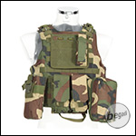 "PHX Plate Carrier / Weste ""FSBE Style"" - woodland"