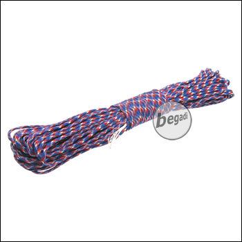 "BE-X Paracord (550lbs), 30m - ""Freedom"""