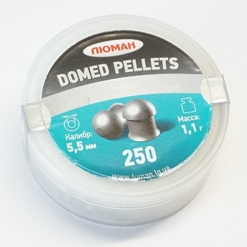 Luman Domed Pellets Diabolos 5.5mm - 250rnd